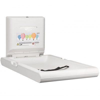 Mediclinics babyverzorgingstafel verticaal, wit